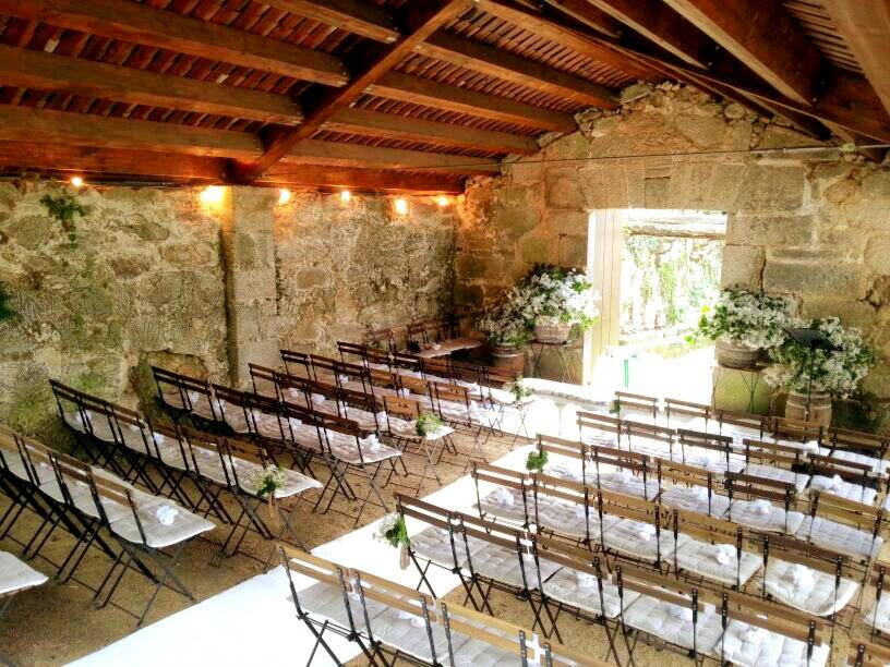 Decoración Bodas Galicia - Altar - Fátima González Bodas - Bodas Vigo, Orense y Pontevedra.